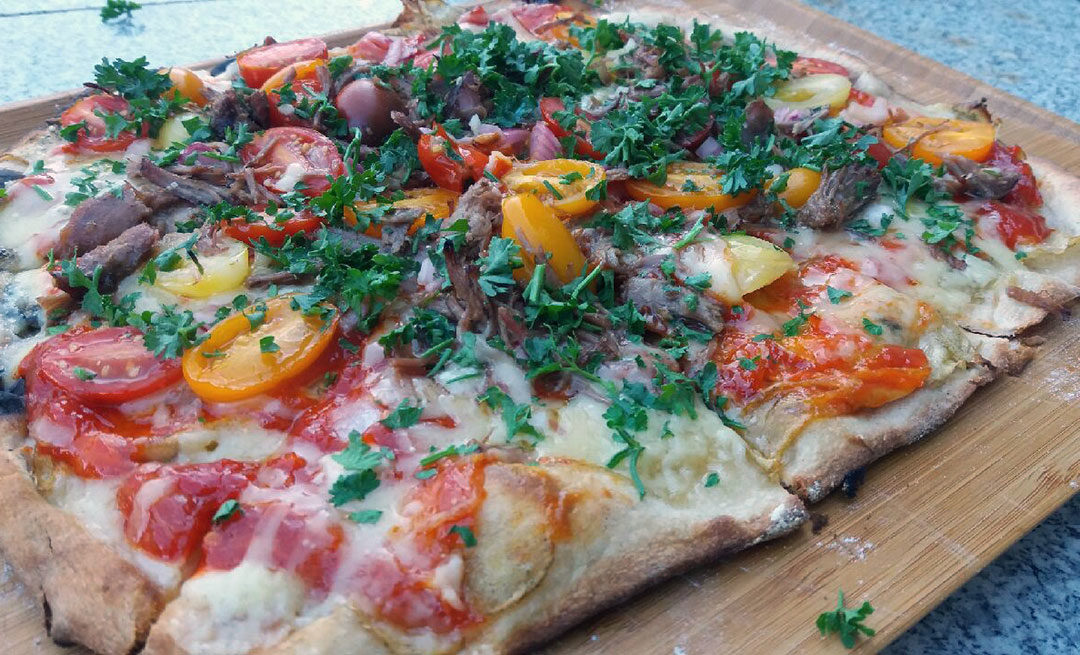 Pizza a la Vino y Tapas