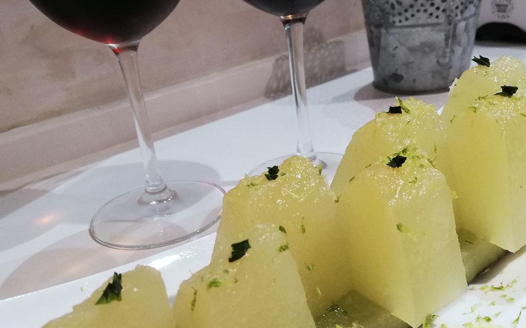 Melon a La Taberna del Chef del Mar